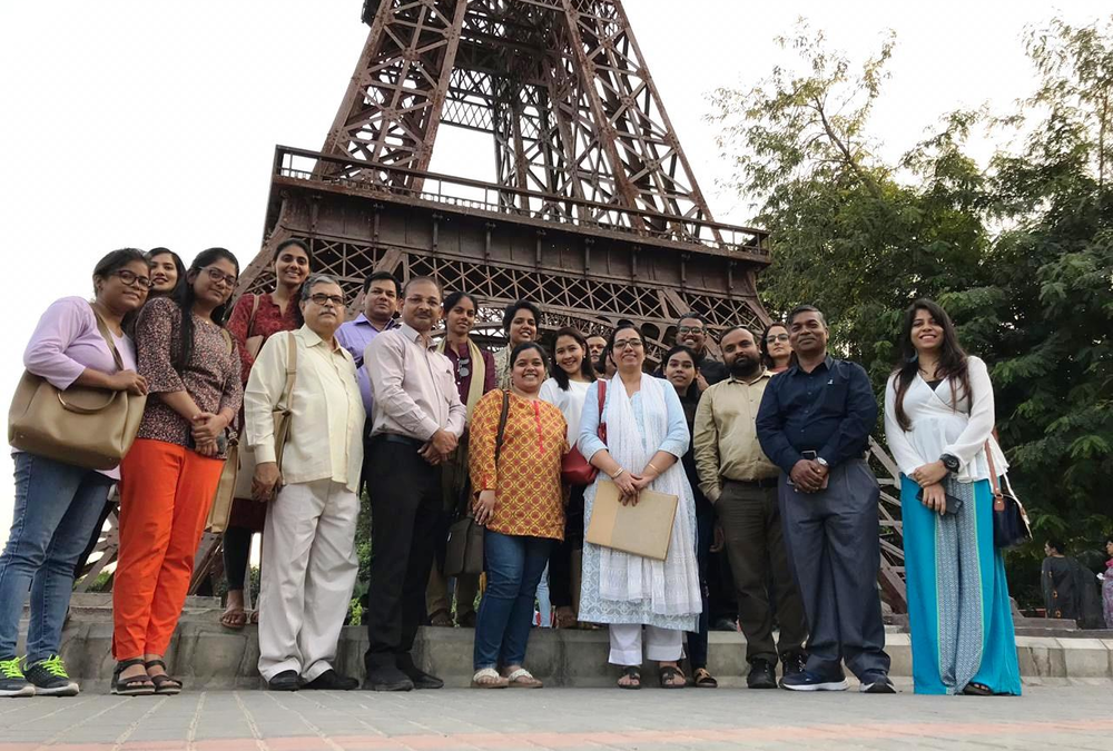 International Team-up with CityNet National Chapter India Kicked Off to a Good Start