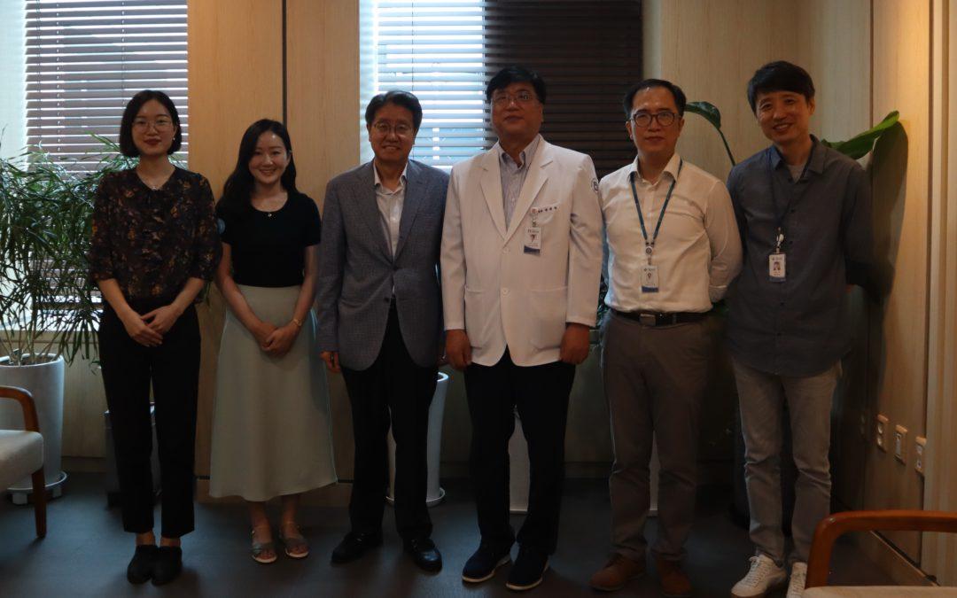 Meeting between the Seoul Medical Center & CityNet