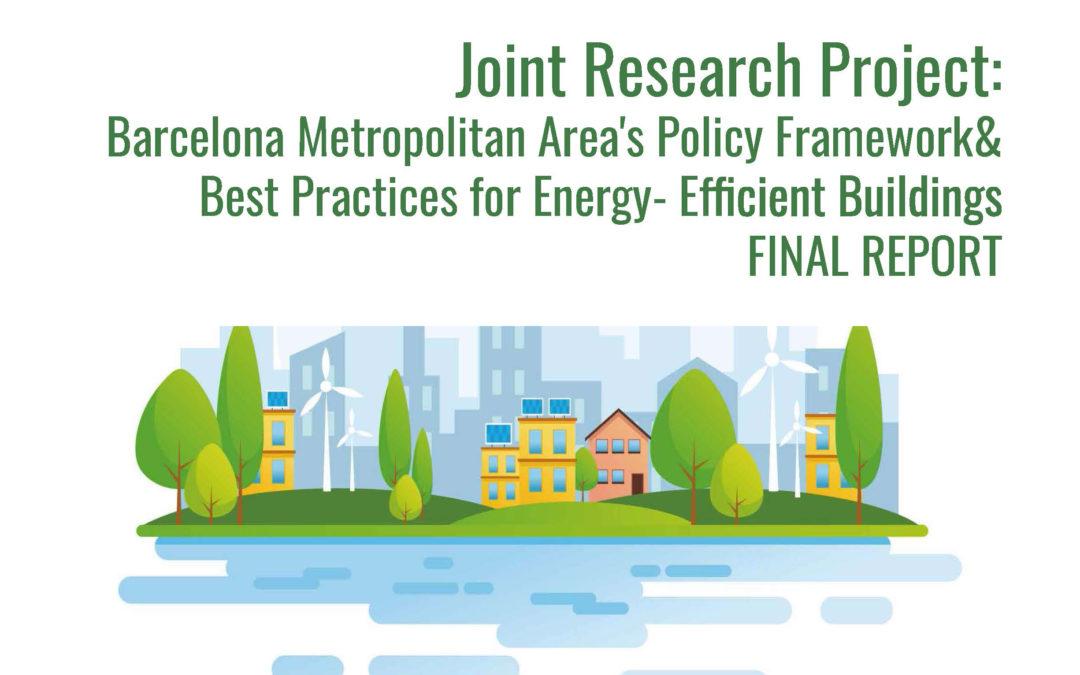 Barcelona Metropolitan Area's Policy Framework & Best Practices for Energy-Efficient Buildings