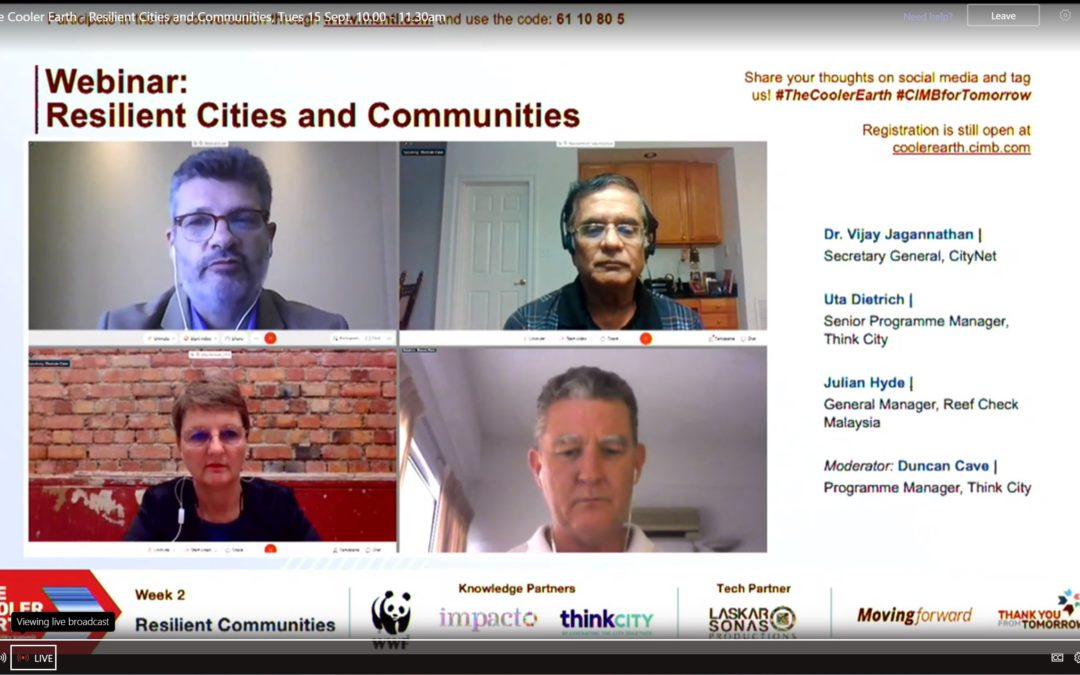 The Cooler Earth Summit – Resilient Cities and Communities