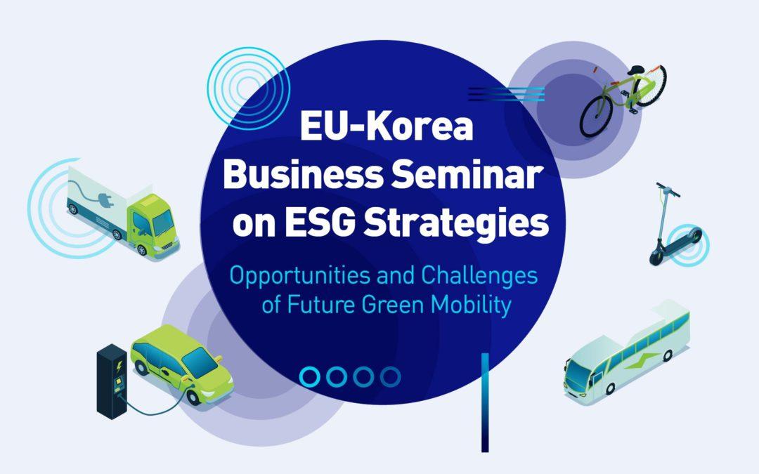 EU-Korea Business Seminar on ESG Strategies