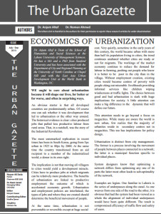 1urban gazette