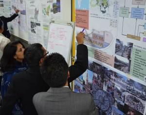 Experts from UN-Habitat explore using spatial planning.